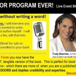 Easiest Author Program Ever Banner