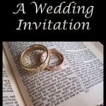 A Wedding Invitation Front Cover